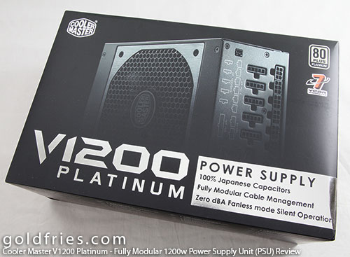 Cooler Master V1200 Platinum - Fully Modular 1200w Power Supply Unit (PSU) Review