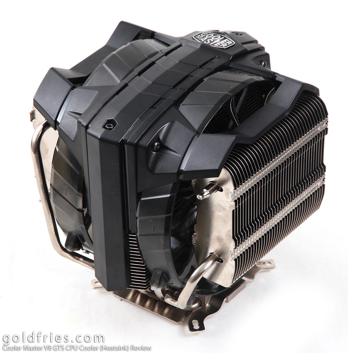 Cooler Master V8 GTS CPU Cooler (Heatsink) Review