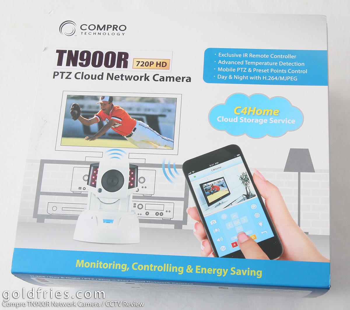 Compro TN900R Network Camera / CCTV Review