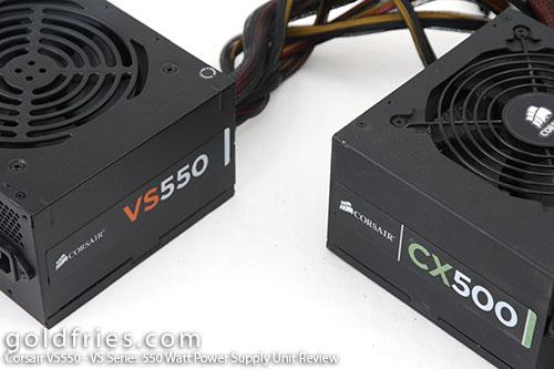 Corsair VS550 - VS Series 550 Watt Power Supply Unit Review 3