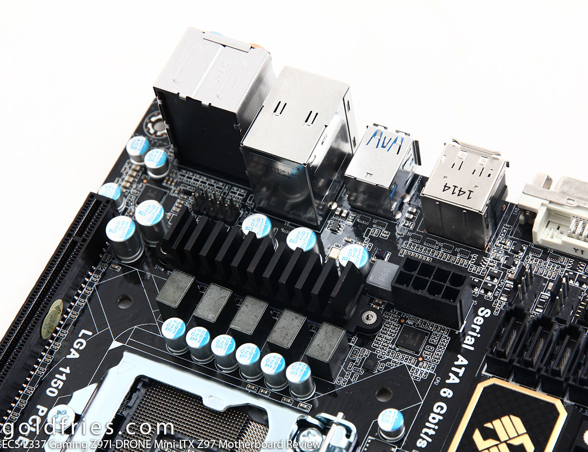 ECS L337 Gaming Z97I-DRONE Mini-ITX Z97 Motherboard Review