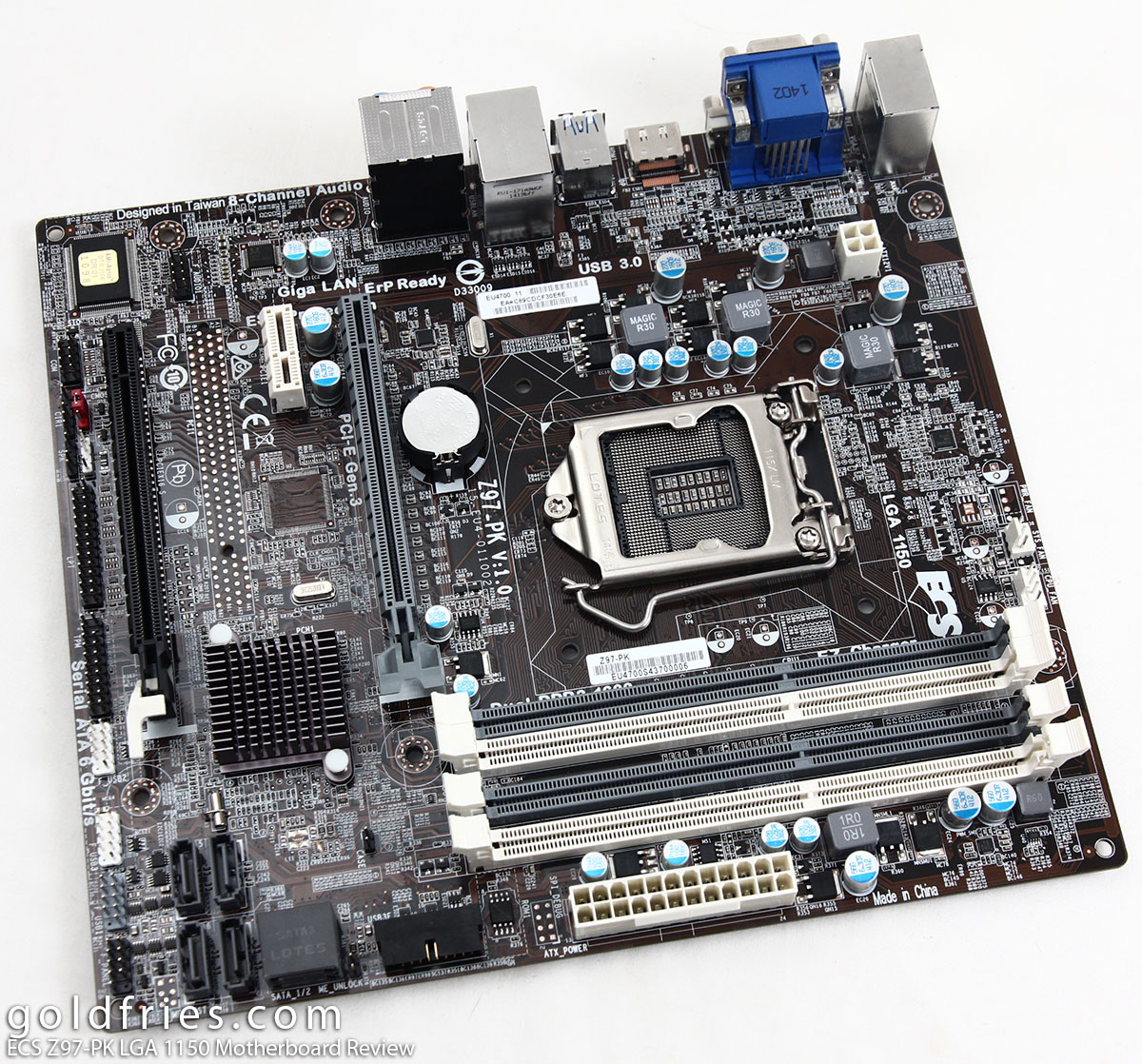 ECS Z97-PK LGA 1150 Motherboard Review