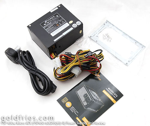 FSP 450w Micro ATX (FSP450-60GHS(85)-R) Power Supply Unit Review 20