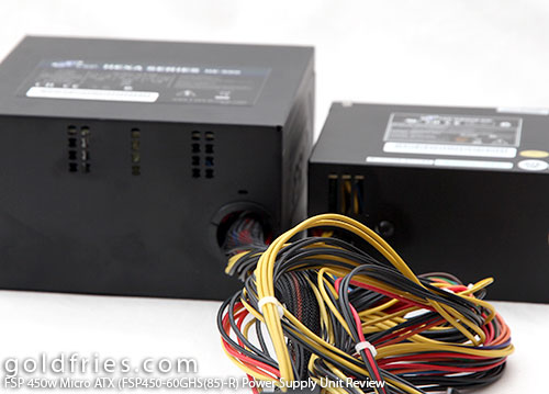 FSP 450w Micro ATX (FSP450-60GHS(85)-R) Power Supply Unit Review 22