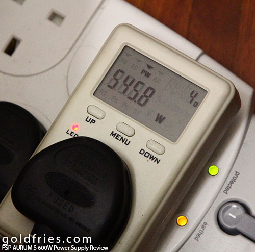 FSP AURUM S 600W Power Supply Review