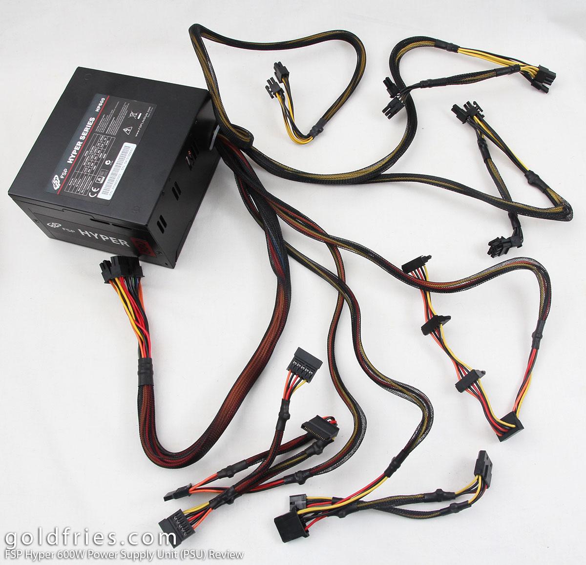 FSP Hyper 600W Power Supply Unit (PSU) Review