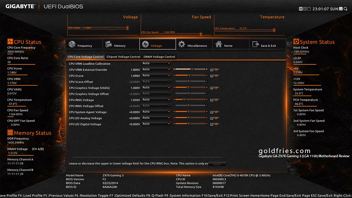 Gigabyte GA-Z97X-Gaming 3 (LGA 1150) Motherboard Review