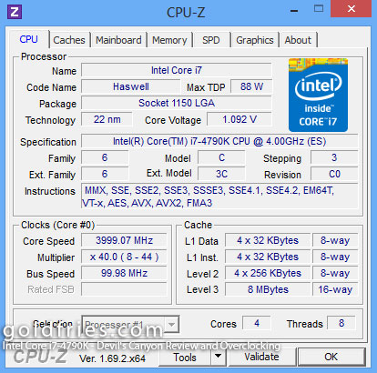 Intel Core i7-4790K - Devil's Canyon Review and Overclocking