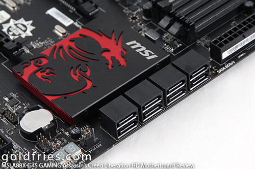MSI A88X-G45 GAMING Assassin's Creed Liberation HD Motherboard Review