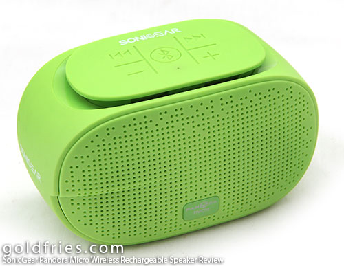 SonicGear Pandora Micro Wireless Rechargeable Speaker Review