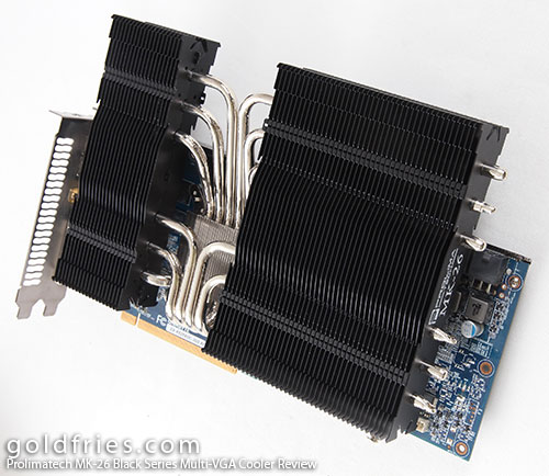 Prolimatech MK-26 Black Series Multi-VGA Cooler Review