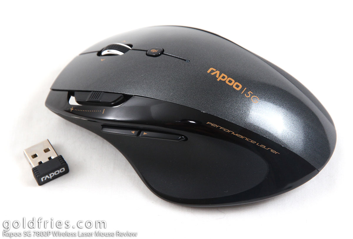Rapoo 5G 7800P Wireless Laser Mouse Review