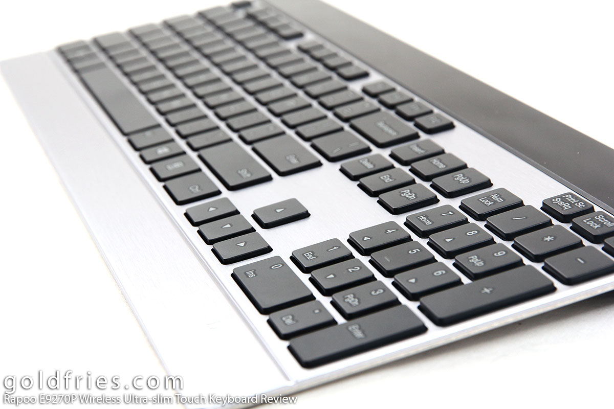 Rapoo E9270P Wireless Ultra-slim Touch Keyboard Review