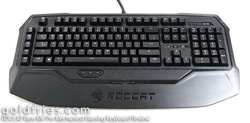 ROCCAT Ryos MK Pro Mechanical Gaming Keyboard Review