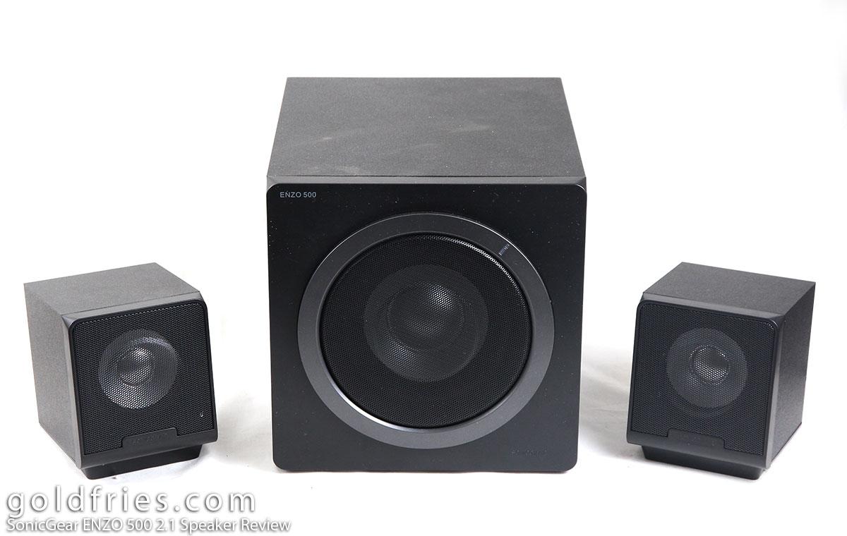 SonicGear ENZO 500 2.1 Speaker Review