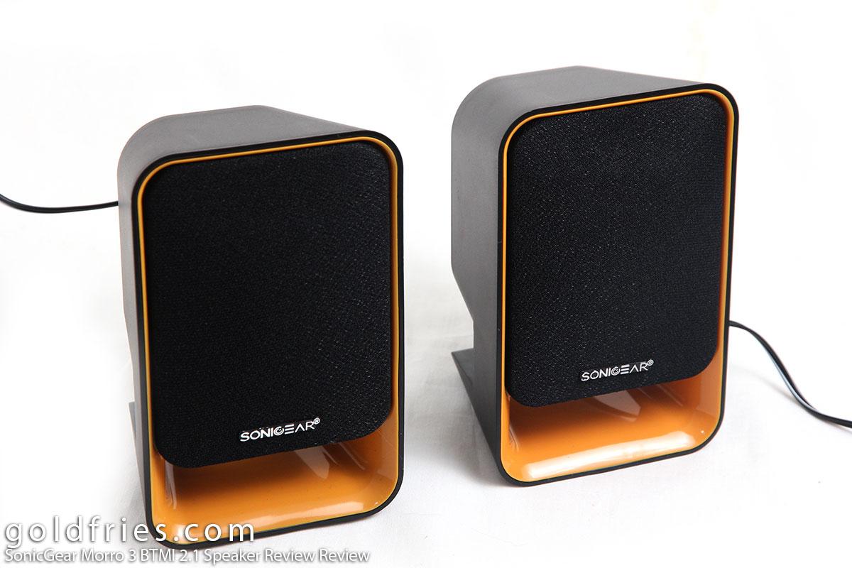 SonicGear Morro 3 BTMI 2.1 Speaker Review Review