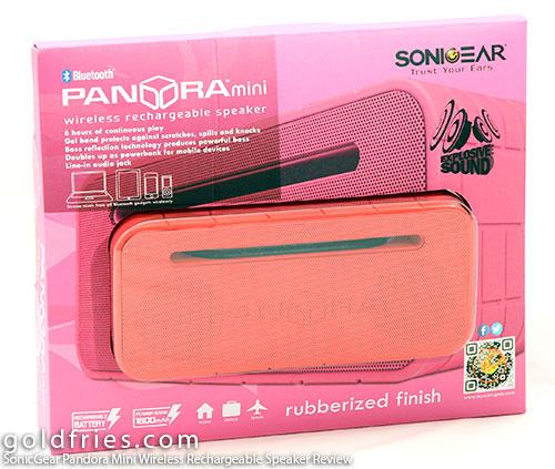 SonicGear Pandora Mini Wireless Rechargeable Speaker Review