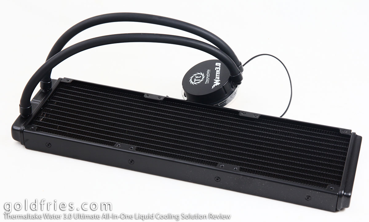 Thermaltake Water 3.0 Ultimate C All-In-One Liquid Cooling Solution Review