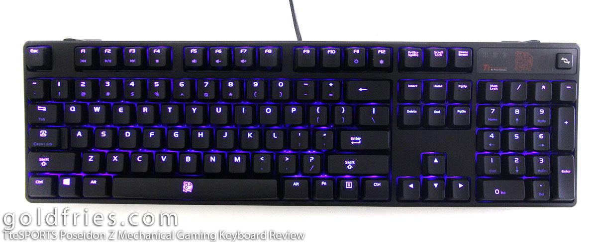 TteSPORTS Poseidon Z Mechanical Gaming Keyboard Review