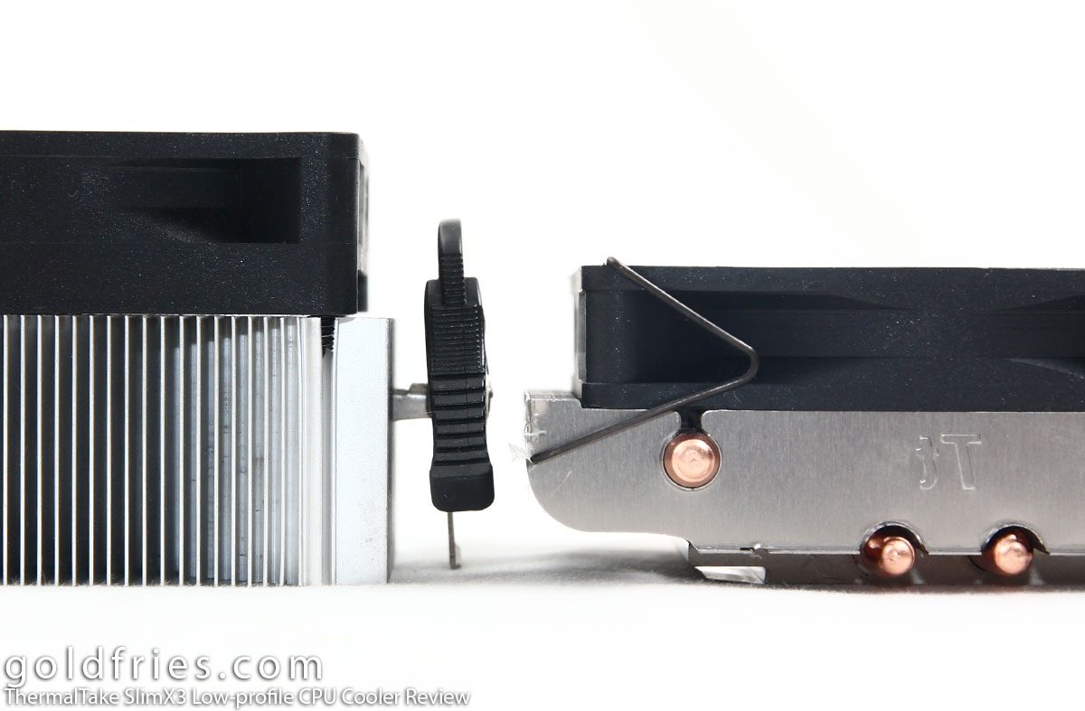 ThermalTake SlimX3 Low-profile CPU Cooler Review