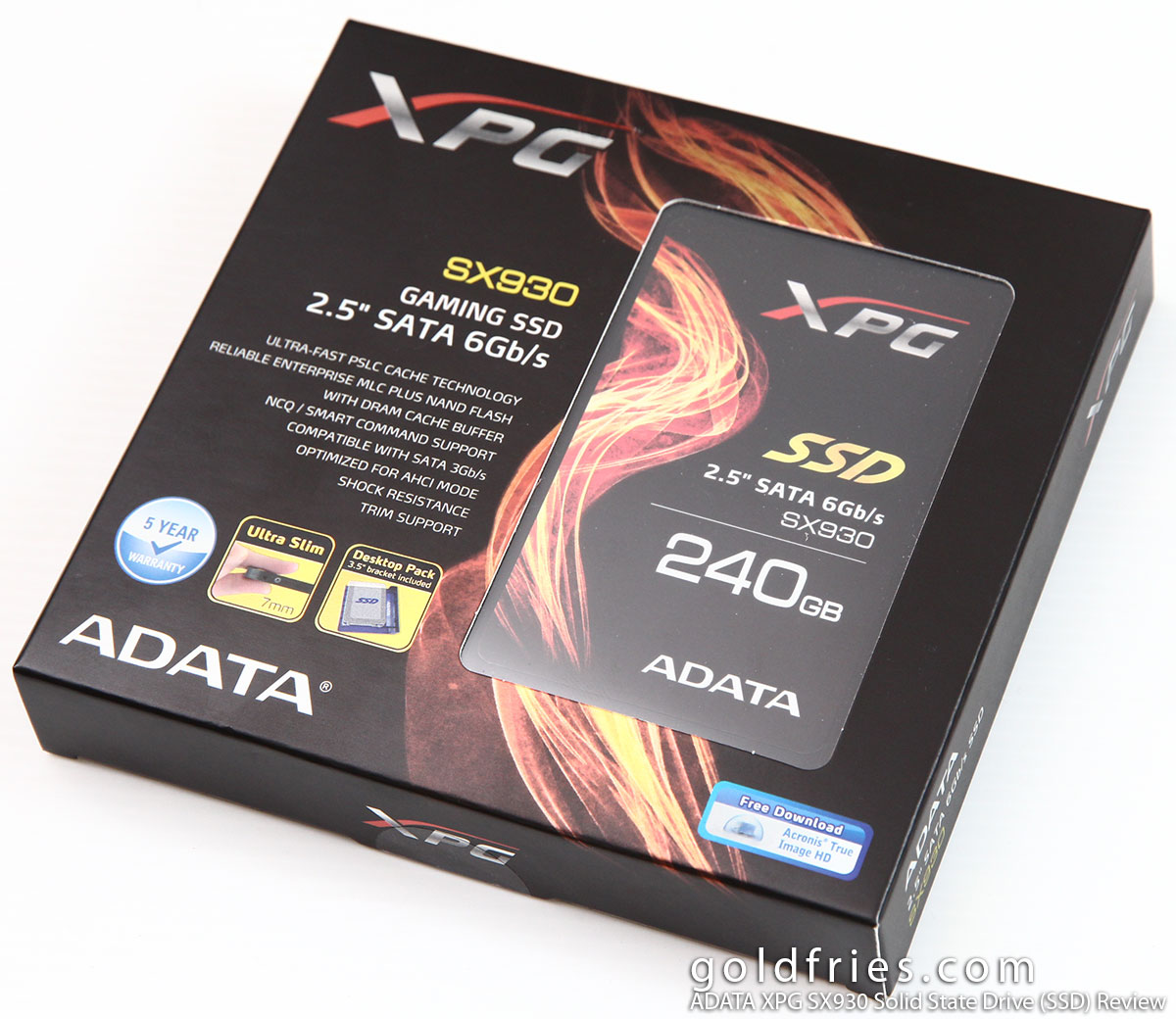 ADATA XPG SX930 Solid State Drive (SSD) Review