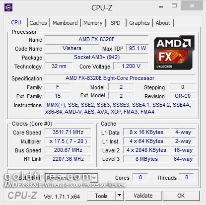 AMD FX-8320E (Vishera) 8-Core Processor Review
