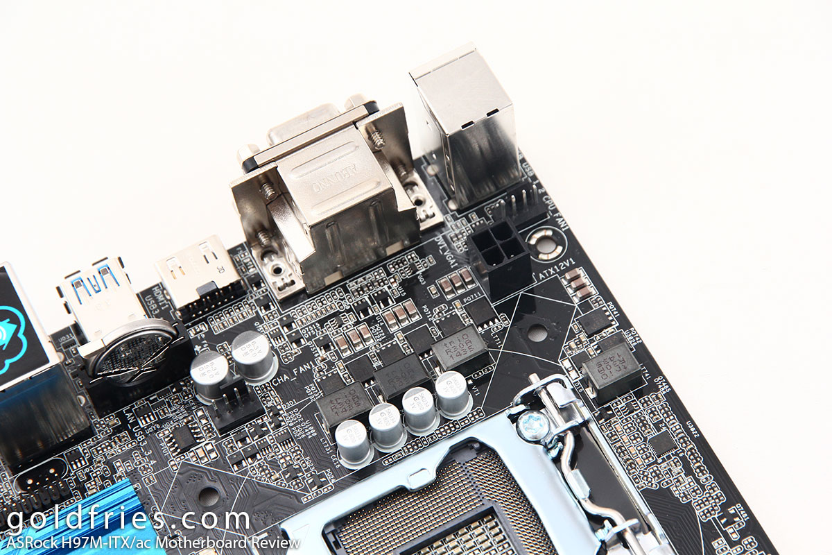 ASRock H97M-ITX/ac Motherboard Review