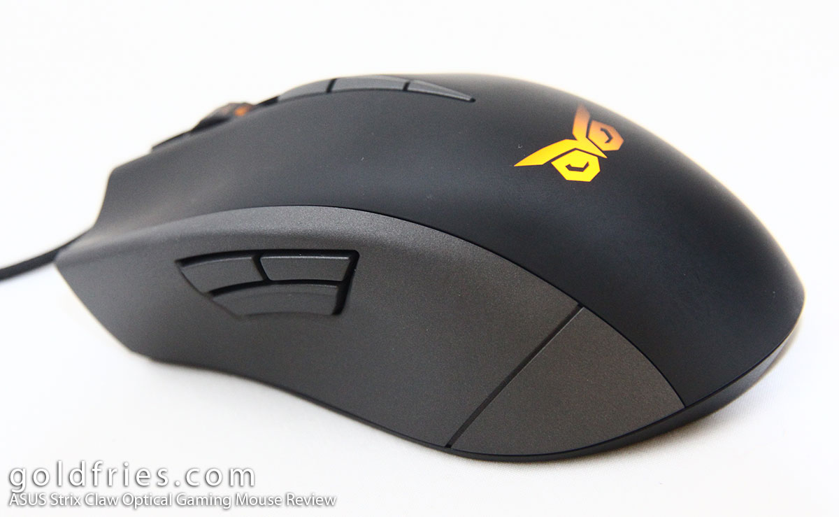 ASUS Strix Claw Optical Gaming Mouse Review