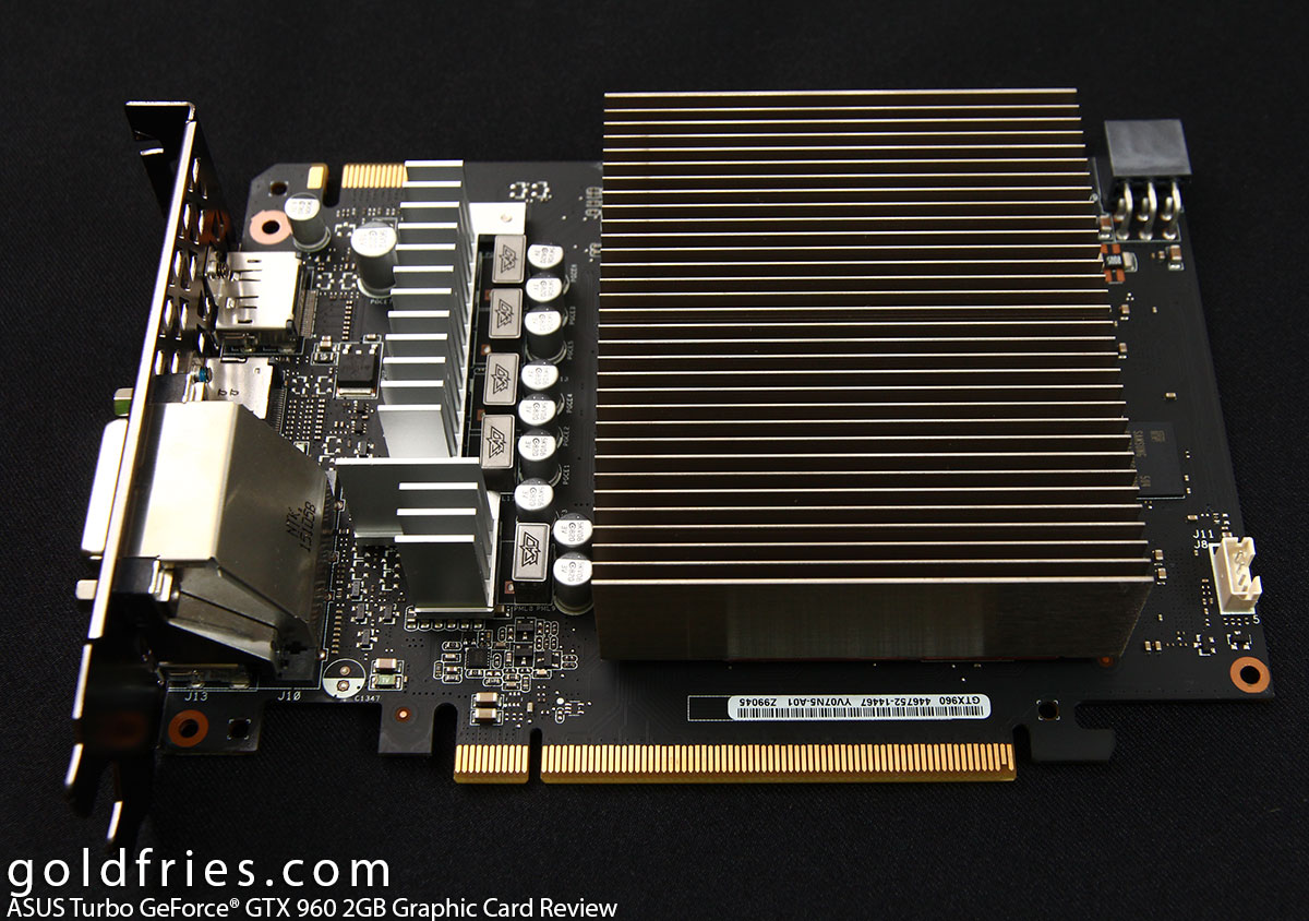 ASUS Turbo GeForce GTX 960 2GB Graphic Card Review
