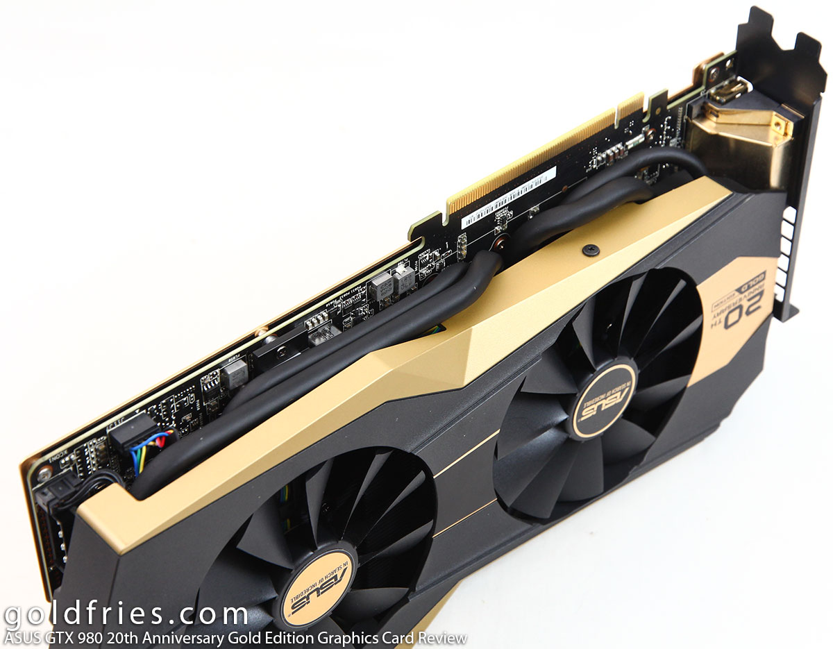 ASUS GTX 980 20th Anniversary Gold Edition Graphics Card Review