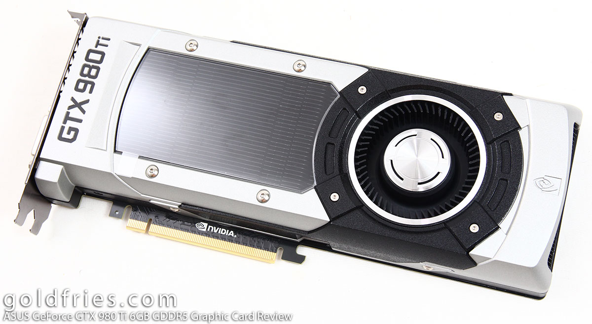 ASUS GeForce GTX 980 Ti 6GB GDDR5 Graphic Card Review