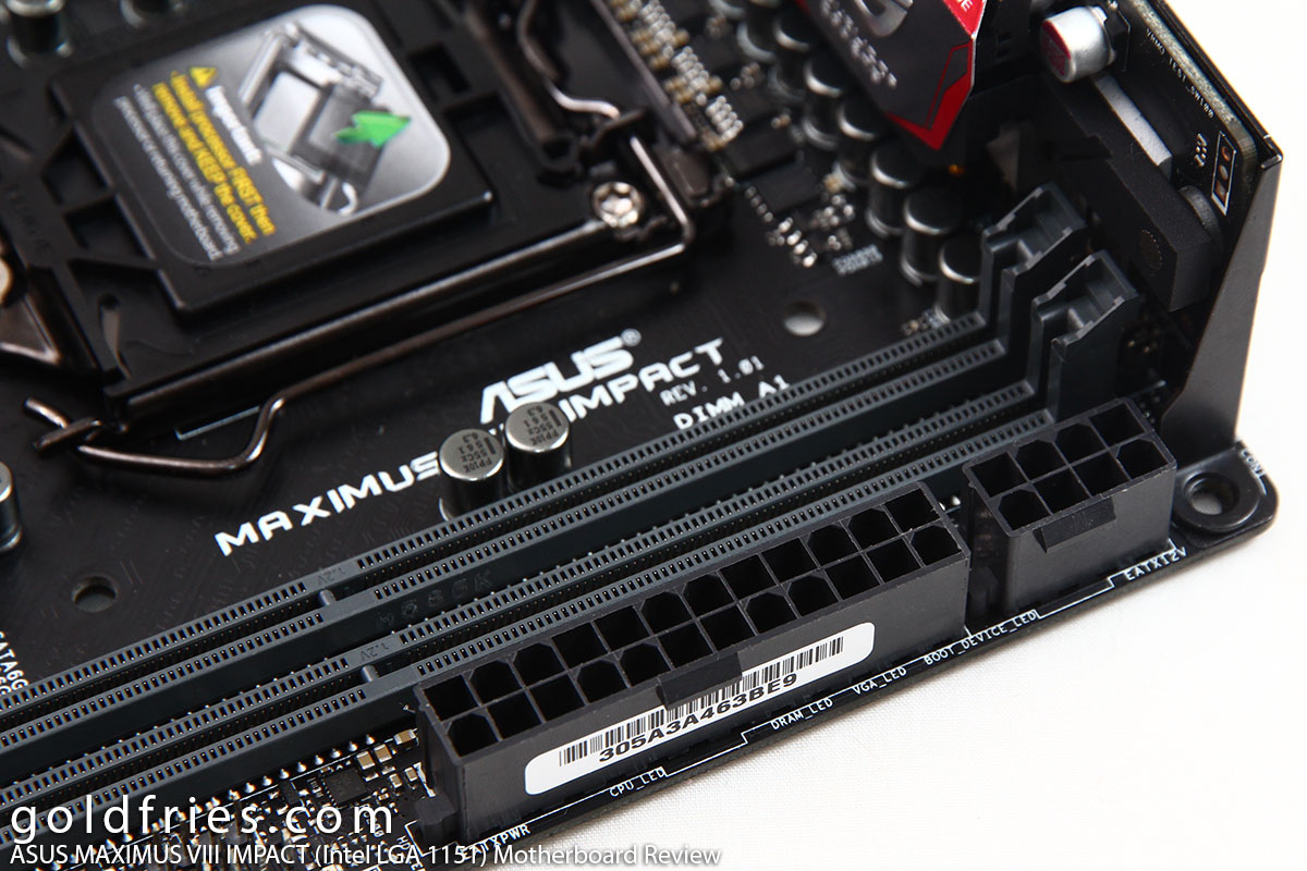ASUS ROG MAXIMUS VIII IMPACT (Intel LGA 1151) Motherboard