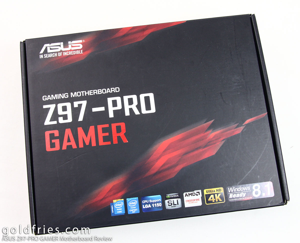 ASUS Z97-PRO GAMER Motherboard Review ~ goldfries