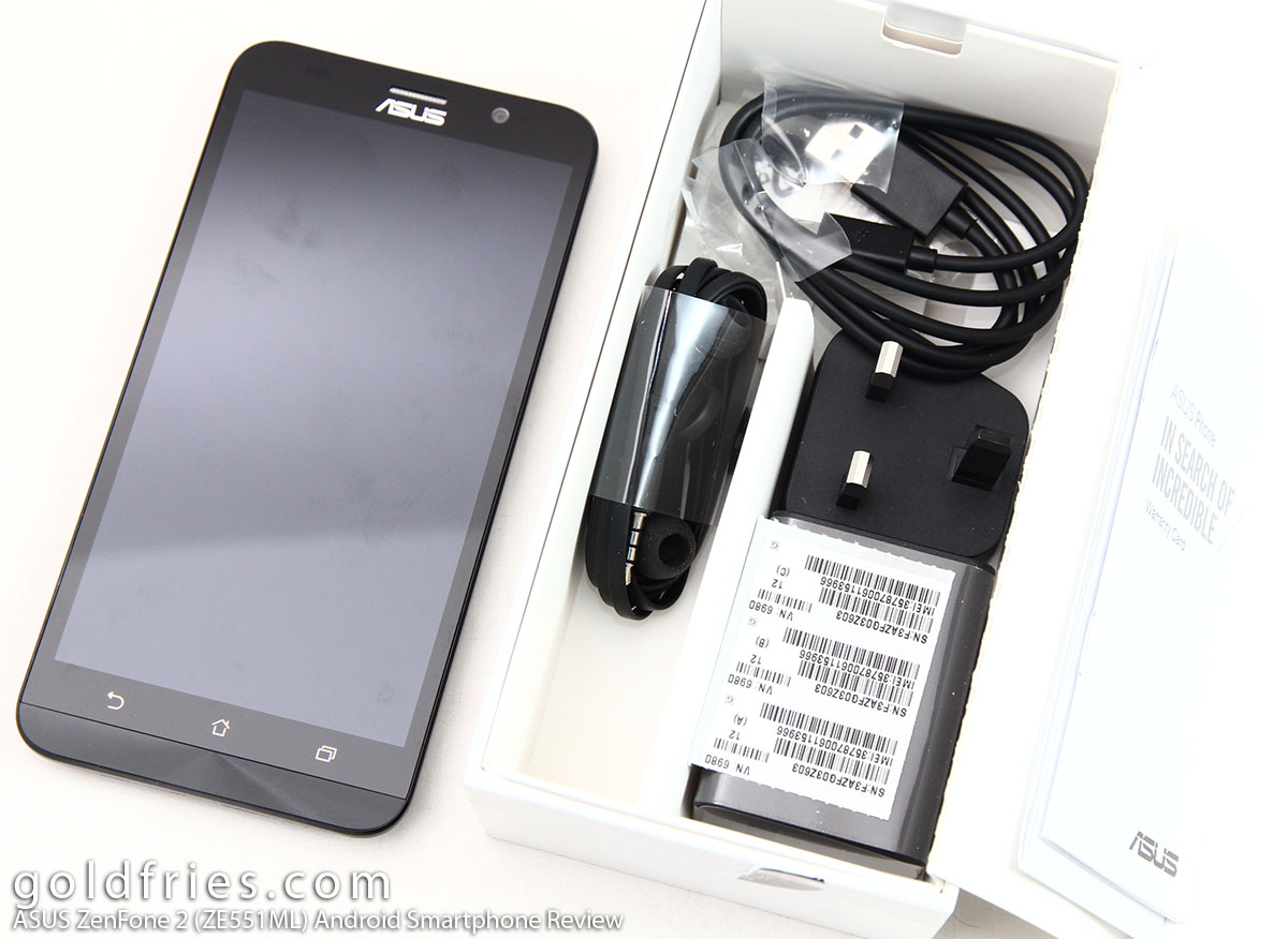ASUS ZenFone 2 (ZE551ML) Android Smartphone Review