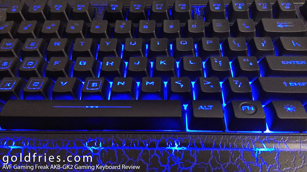 AVF Gaming Freak AKB-GK2 Gaming Keyboard Review