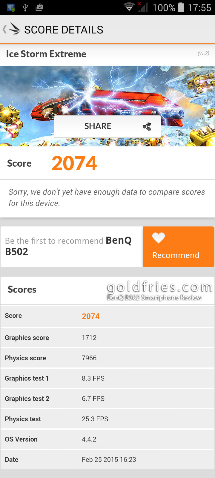 BenQ B502 Smartphone Review