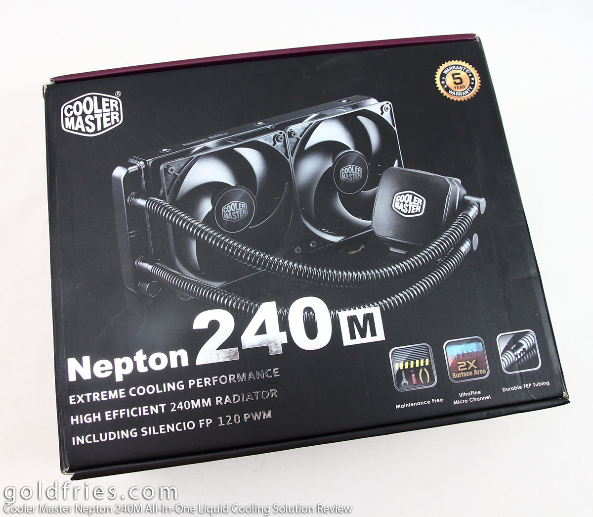 Cooler Master Nepton 240M All-In-One Liquid Cooling Solution Review