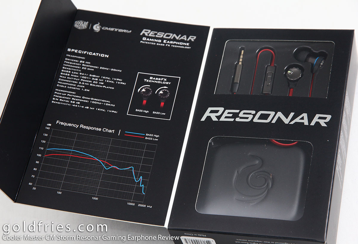 Cooler Master CM Storm Resonar Gaming Earphone Review
