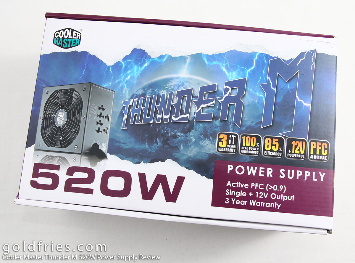 Cooler Master Thunder M 520W Power Supply Review