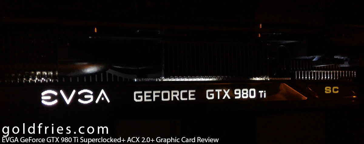 EVGA GeForce GTX 980 Ti Superclocked+ ACX 2.0+ Graphic Card Review