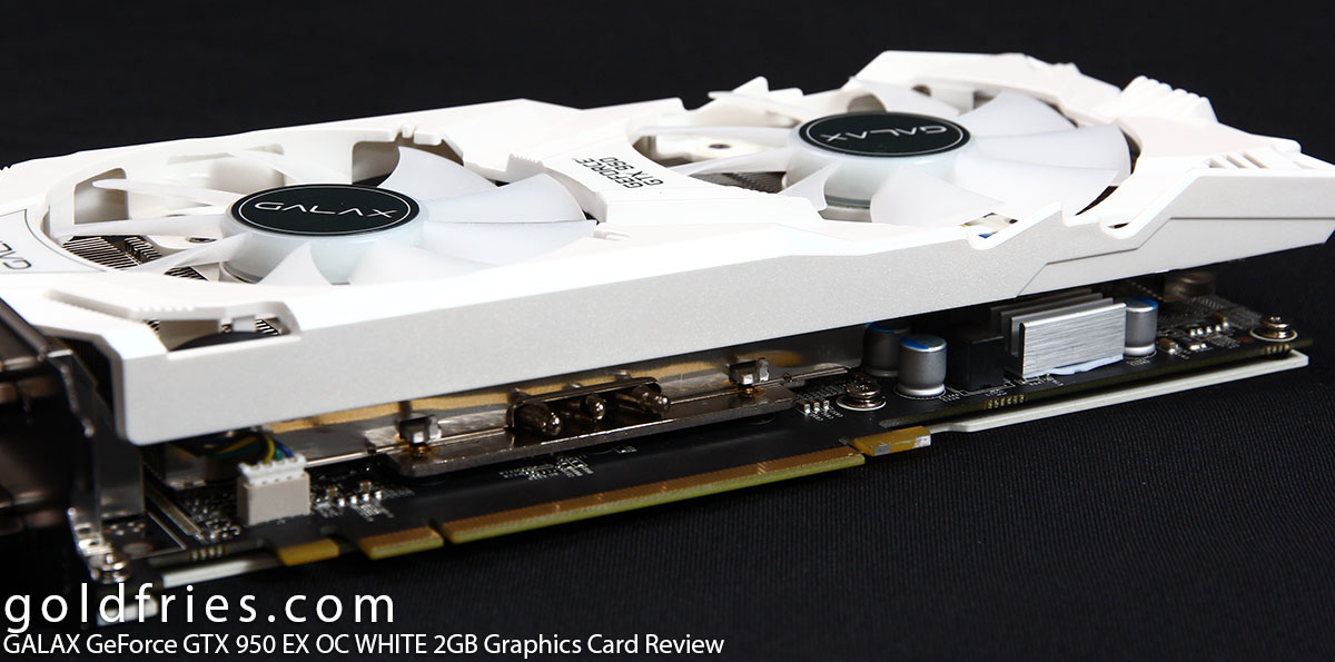 GALAX GeForce GTX 950 EX OC WHITE 2GB Graphics Card Review
