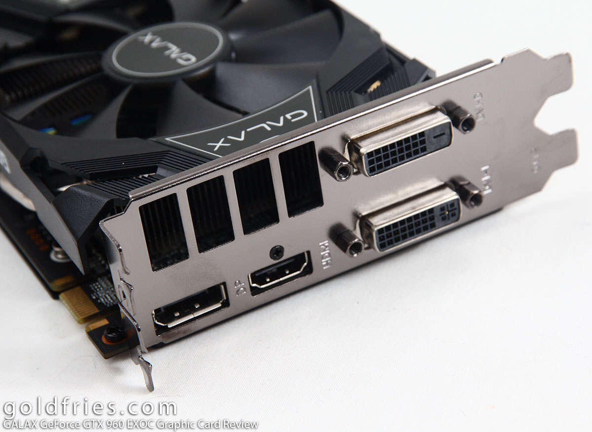 GALAX GeForce GTX 960 EXOC Graphic Card Review