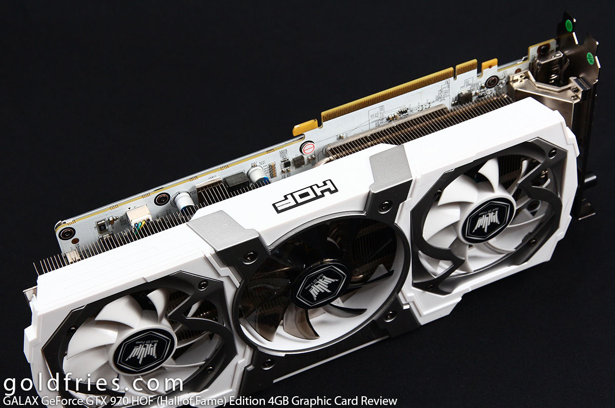 GALAX GeForce GTX 970 HOF (Hall of Fame) Edition 4GB Graphic Card Review