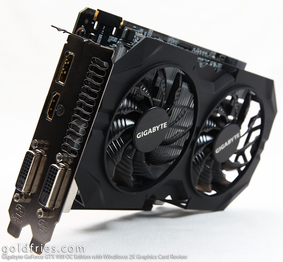 Gigabyte GeForce GTX 950 OC Edition with Windforce 2X Graphics Card Review