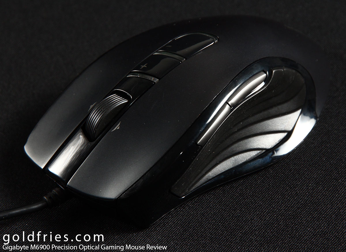 Gigabyte M6900 Precision Optical Gaming Mouse Review