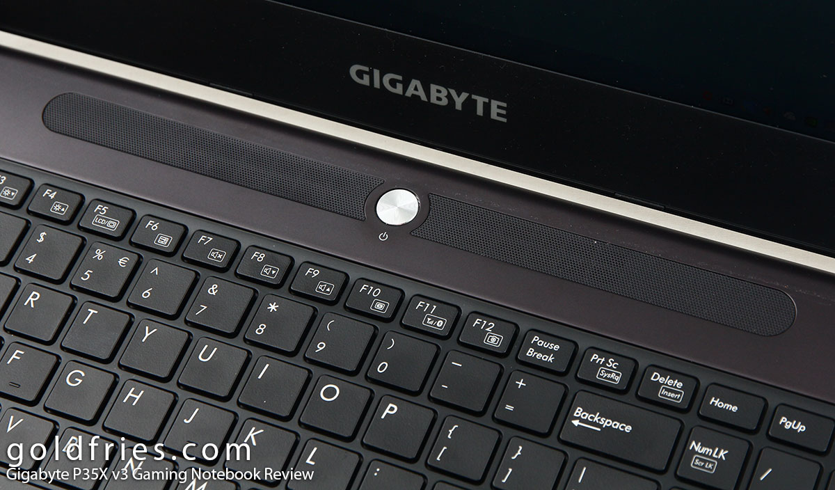Gigabyte P35X v3 Gaming Notebook Review