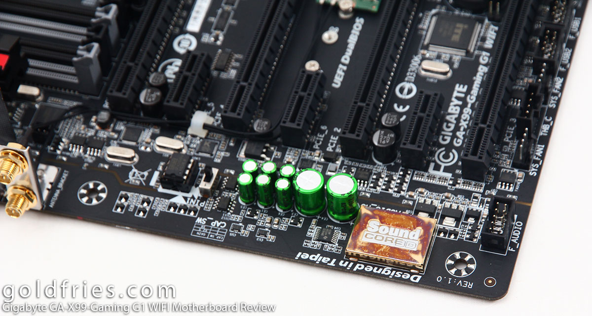 Gigabyte GA-X99-Gaming G1 WIFI Motherboard Review