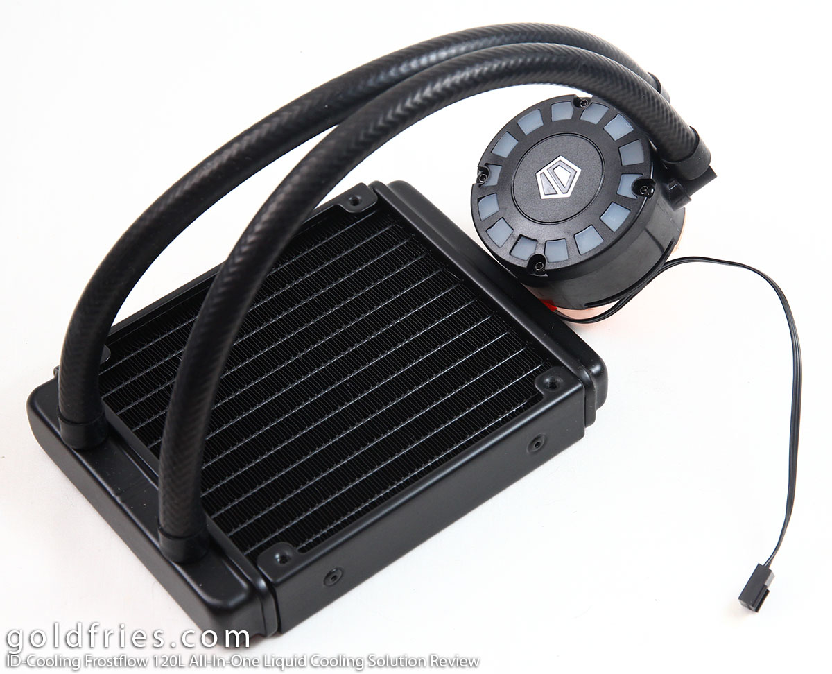ID-Cooling Frostflow 120L All-In-One Liquid Cooling Solution Review