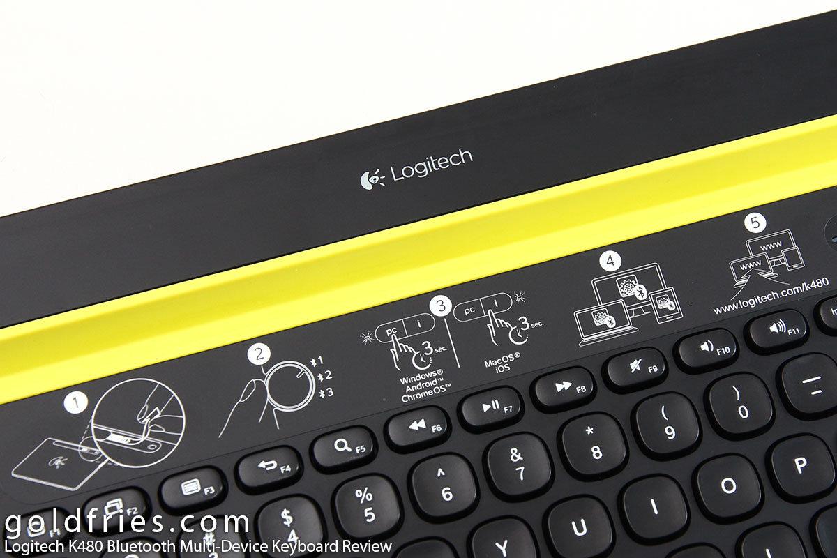 Logitech K480 Bluetooth Multi-Device Keyboard Review