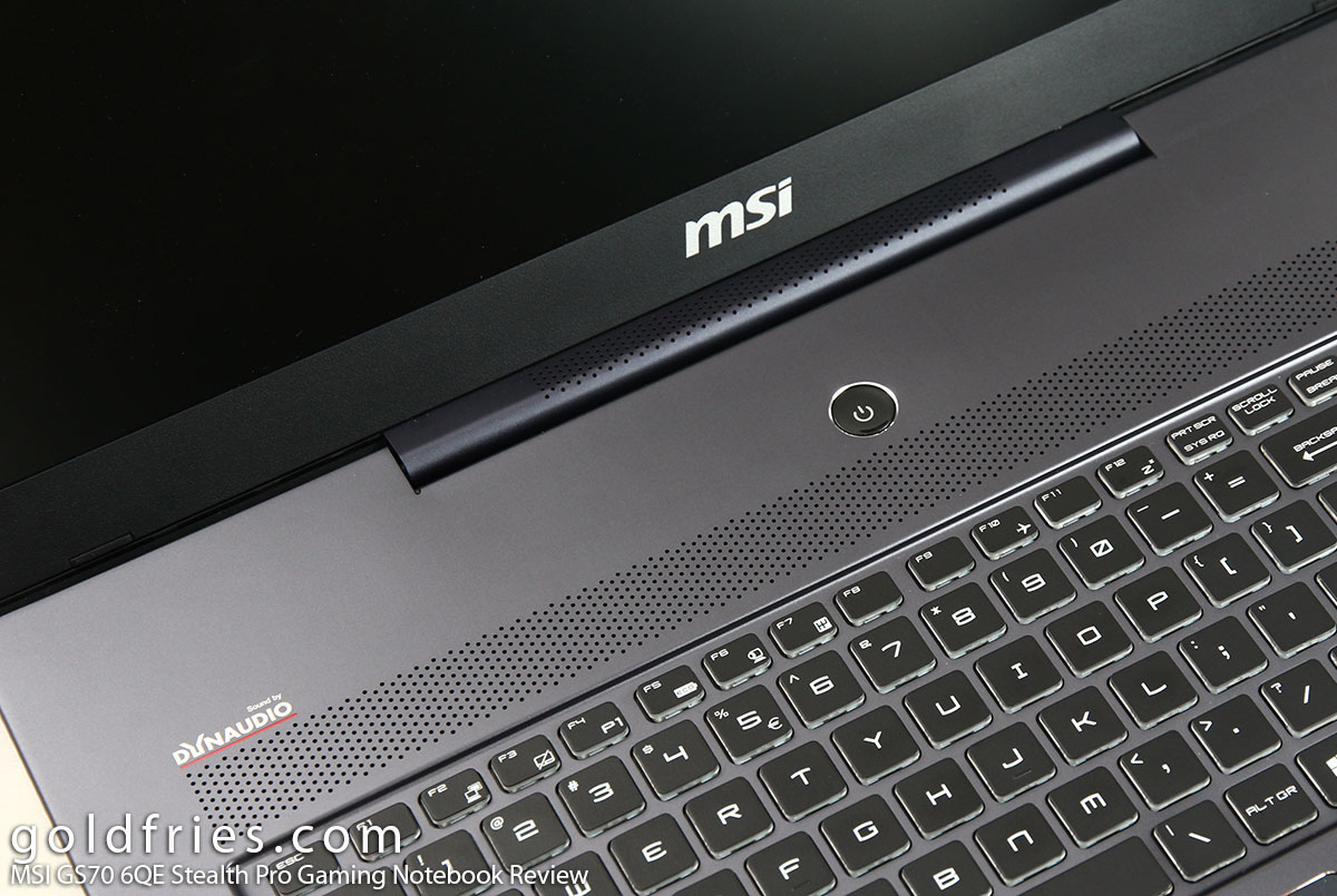 MSI GS70 6QE Stealth Pro Gaming Notebook Review